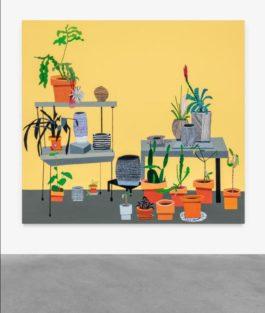 Jonas Wood-Yellow Still Life-2012