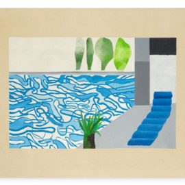 David Hockney-Picture Of A Hollywood Swimming Pool-1964