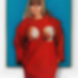 Mel Ramos-The Red Coat-1965
