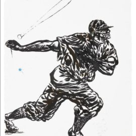 Raymond Pettibon-No Title (He Simply Hands...)-2002