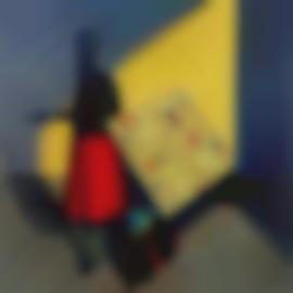Liu Ye-She Isnt Afraid Of Mondrian-1995