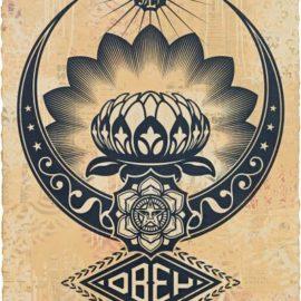 Shepard Fairey-Lotus Ornament-2019