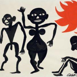 Alexander Calder-Soporific Sun-1969
