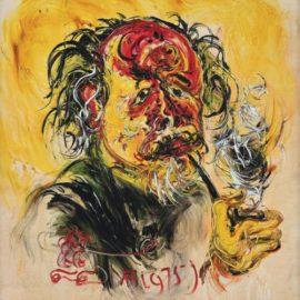 Affandi-Self Portrait-1975