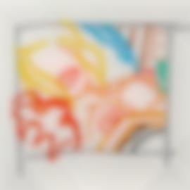Tom Wesselmann-Bedroom Blonde Doodle With Photo-1988