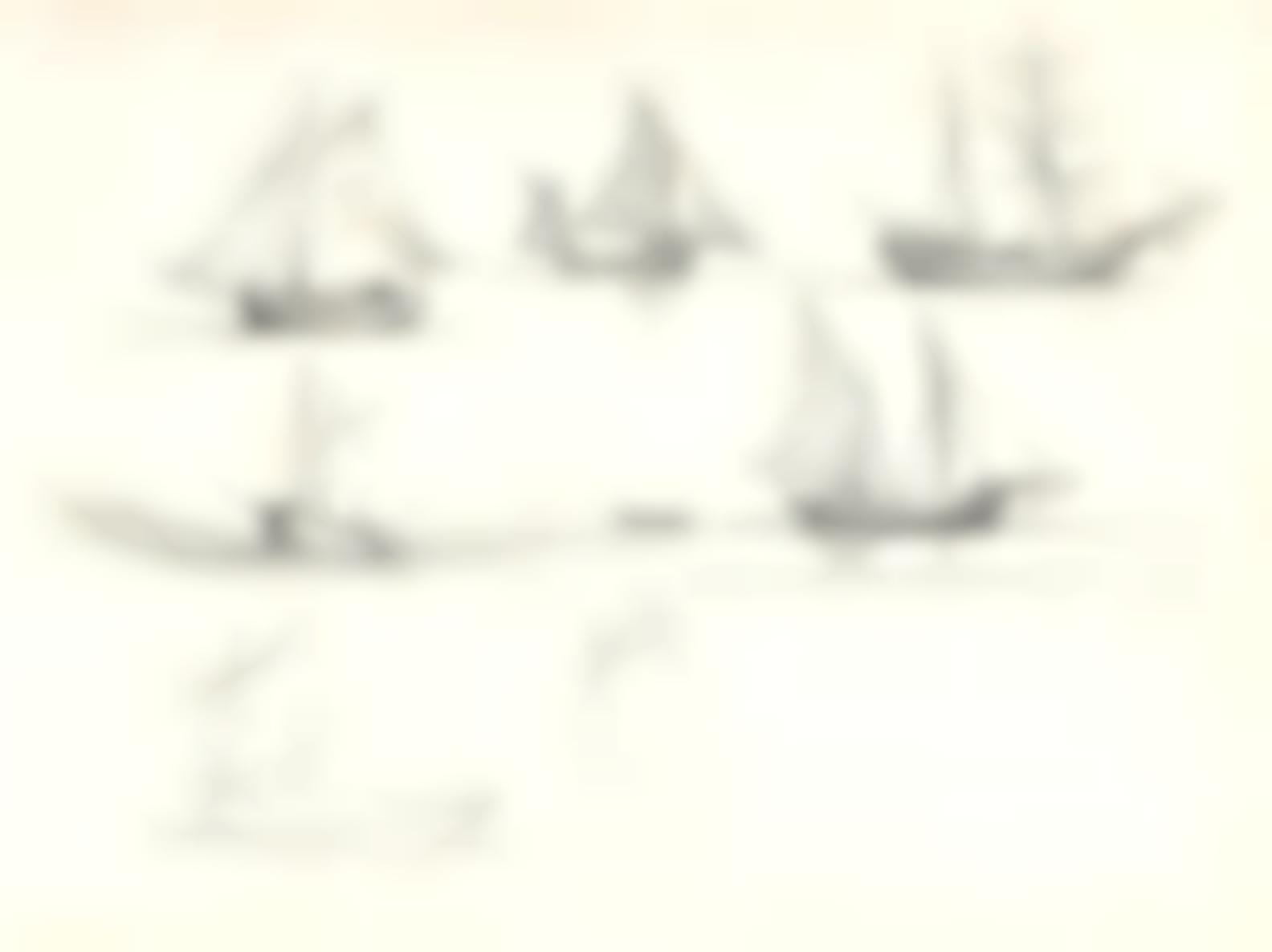 Claude Monet-Divers Bateaux-1857