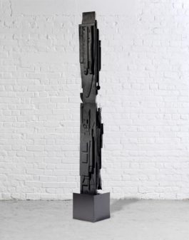 Louise Nevelson-Rain Forest Column XVIII-1962