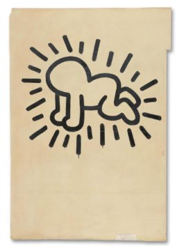 Keith Haring-Untitled (The Church Of The Ascension Grace House Mural), Circa 1983/1984-1984