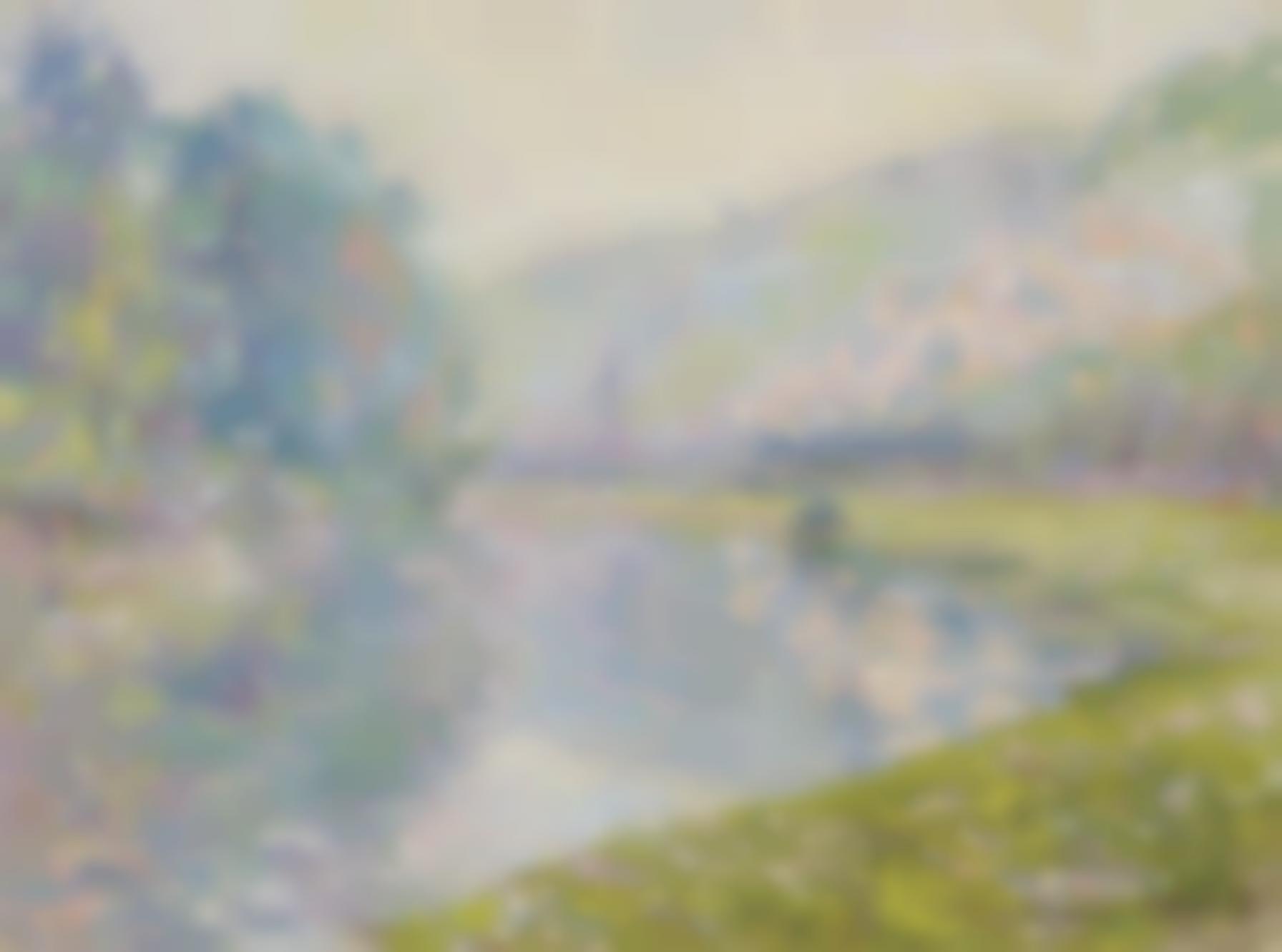 Claude Monet-Le Train A Jeufosse-1884