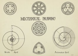 Man Ray-Mechanical Drawing-1908
