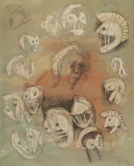 Henry Moore-Pallas Heads-1956
