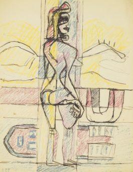 Le Corbusier-Femme Debout