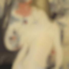 Louis Anquetin-Portrait De Juliette Vary-1890