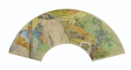 Paul Gauguin-Baignade (II)-1887