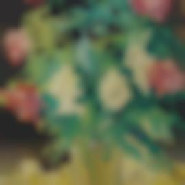 Louis Valtat-Vase Cristal, Roses-1931