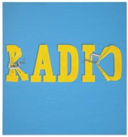 Ed Ruscha-Hurting The Word Radio #2-1964