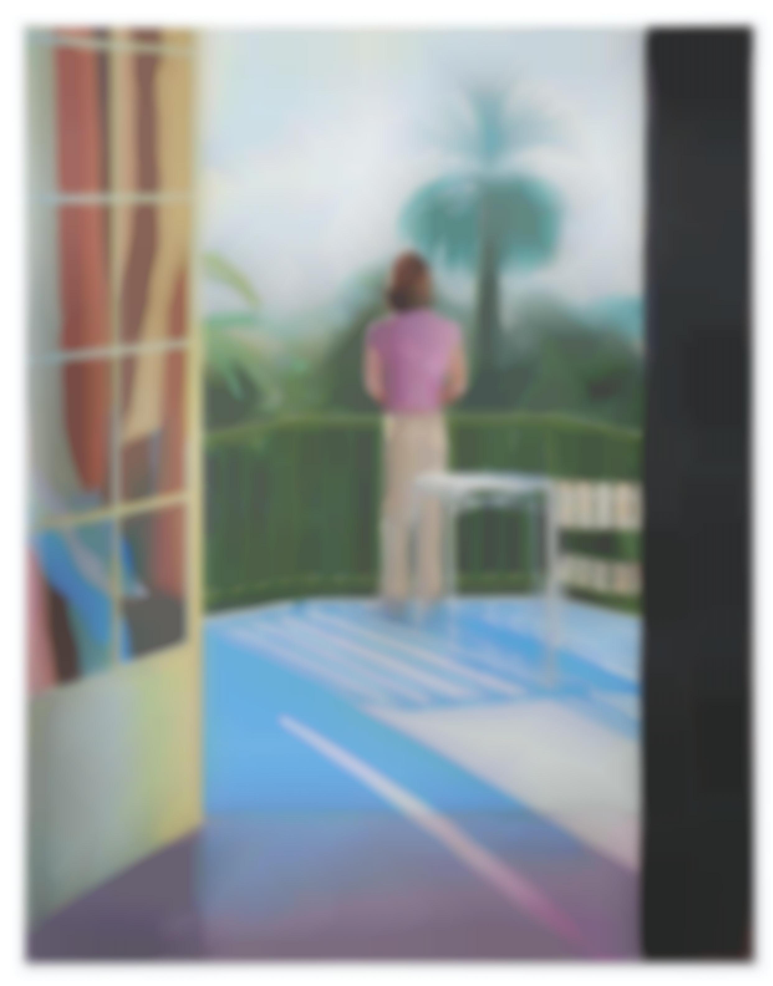 David Hockney-Sur La Terrasse-1971