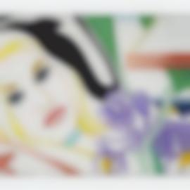 Tom Wesselmann-Bedroom Blonde With Iris-1987