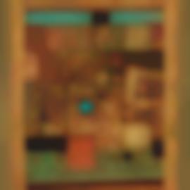 Cheong Soo Pieng-Gold Abstract-1977
