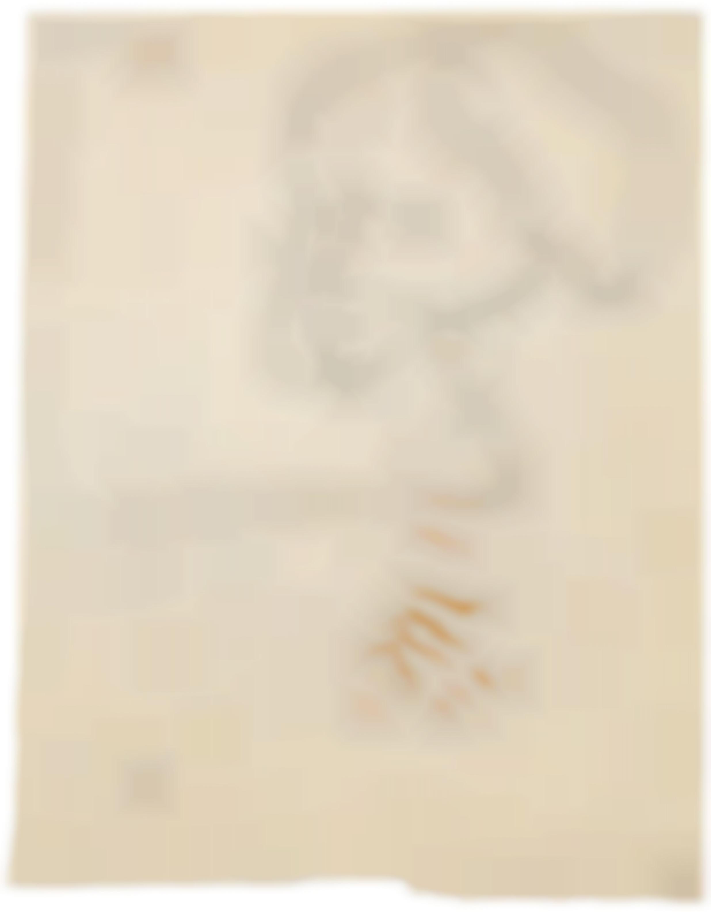 Joseph Beuys-Portrait Hk.-1956