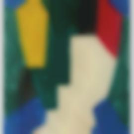 Serge Poliakoff-Composition Abstraite-1967