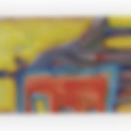 Friedensreich Hundertwasser-La Fuite Et Le Combat Du Dalai Lama-Tibet I-1959
