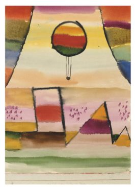 Paul Klee-Der Ballon Im Fenster-1929