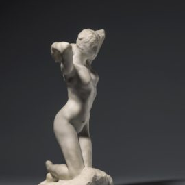 Auguste Rodin-Faunesse A Genoux-1887