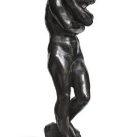 Auguste Rodin-Eve, Petit Modele, Version A La Base Carree Dite Aussi Aux Pieds Plats-1881
