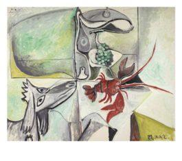 Pablo Picasso-Nature Morte Au Chien-1962