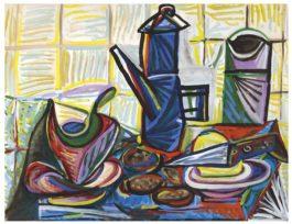 Pablo Picasso-La Cafetiere-1943