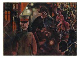 George Grosz-Gefahrliche Strasse-1918