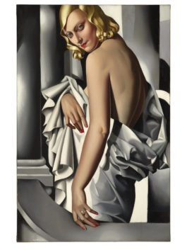 Tamara de Lempicka-Portrait De Marjorie Ferry-1932