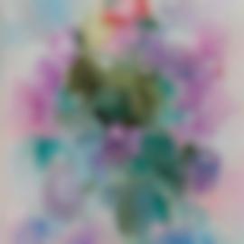 Jean Dufy-Bouquet De Roses Et De Lilas