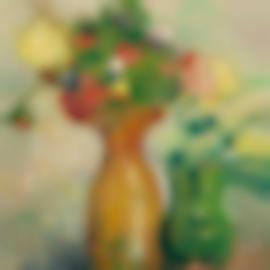 Louis Valtat-Deux Bouquets-1904