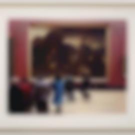 Thomas Struth-Louvre IV, Paris 1989-1990