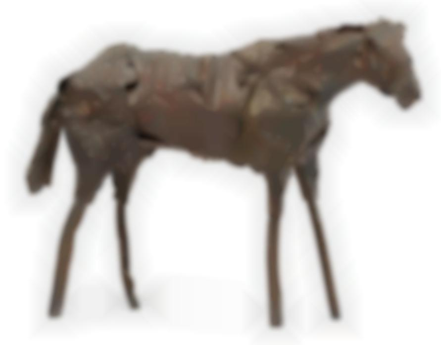Deborah Butterfield-Derby Horse-1985