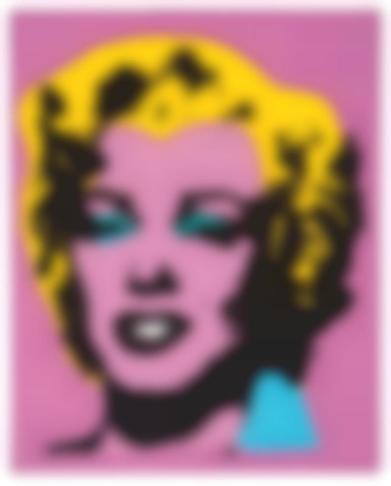 Elaine Sturtevant-Study For Warhols Marilyn-1965