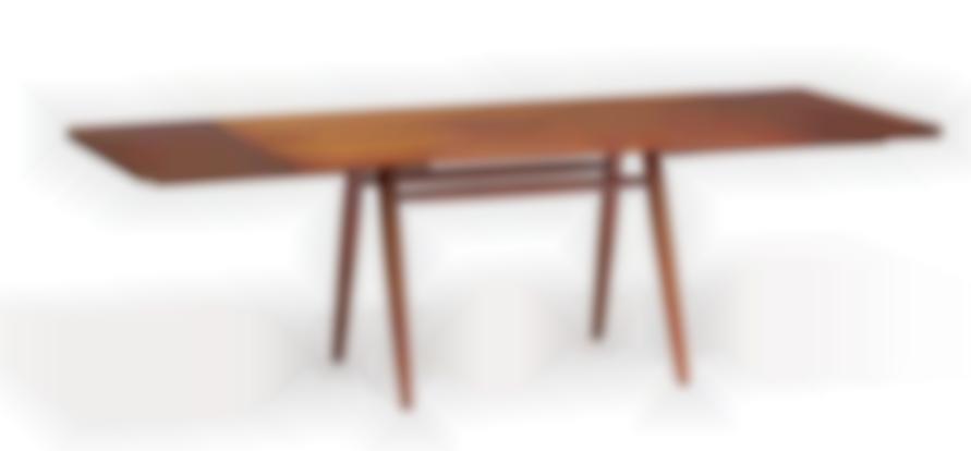 George Nakashima - Turned Leg Dining Table-