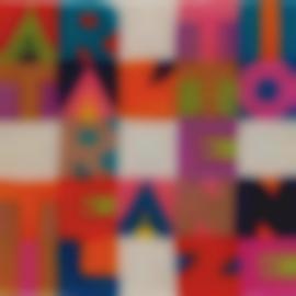 Alighiero Boetti-Attirare L Attenzione-1987