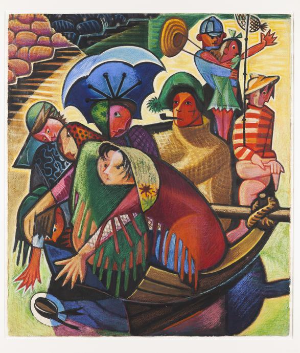 Jose de Almada Negreiros-Untitled, c.1946-