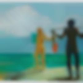 Eric Fischl-Untitled (Beach Scene)-1987