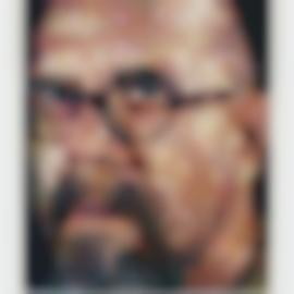 Chuck Close-Self Portrait-2000