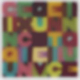 Alighiero Boetti-Cinque X Cinque-1984