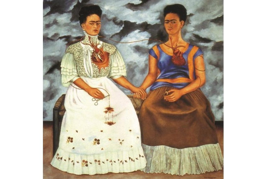 Frida Kahlo is certainly one of the most famous self portrait artists in the world