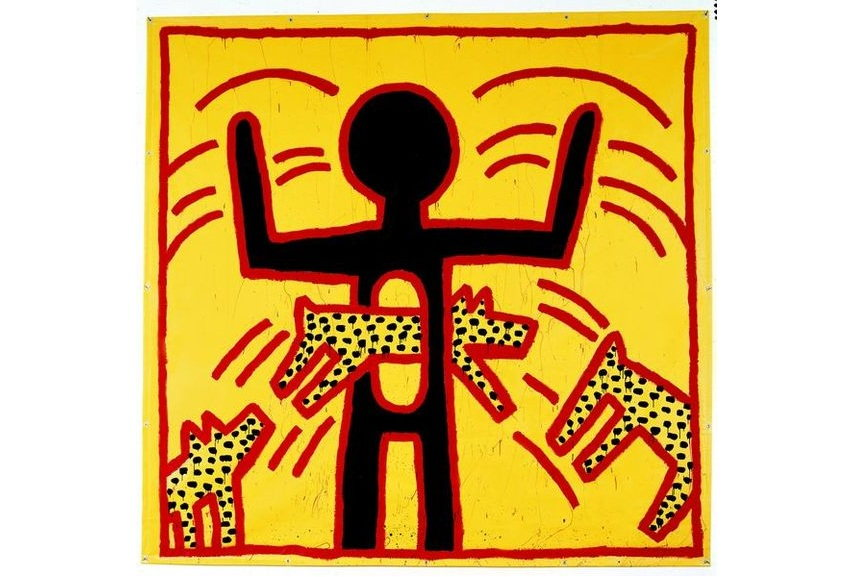 Keith Haring Untitled 1982