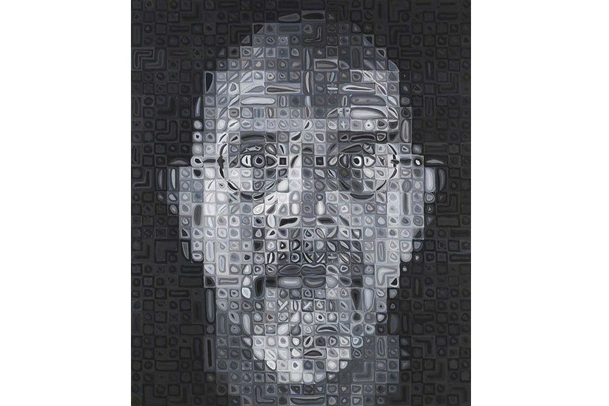 self portrait 2007 by chuck close essay Chuck close is one of four artists chosen to install their art in the newly opened subway stations along the 2nd avenue q line close's mosaic portraits, including lou reed, philip glass, kara walker, and close himself, are permanently on view at the 86th street station.