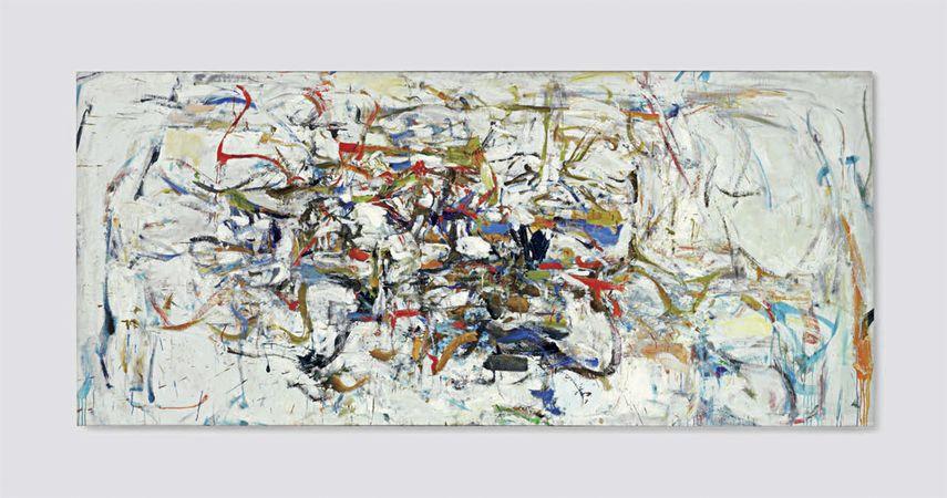 joan mitchell paint kooning school expressionism
