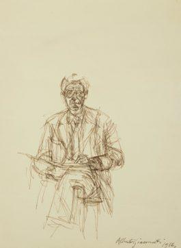 Alberto Giacometti-Autoportrait-1956