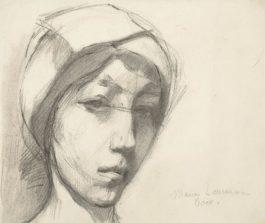 Marie Laurencin-Autoportrait Coco-1904